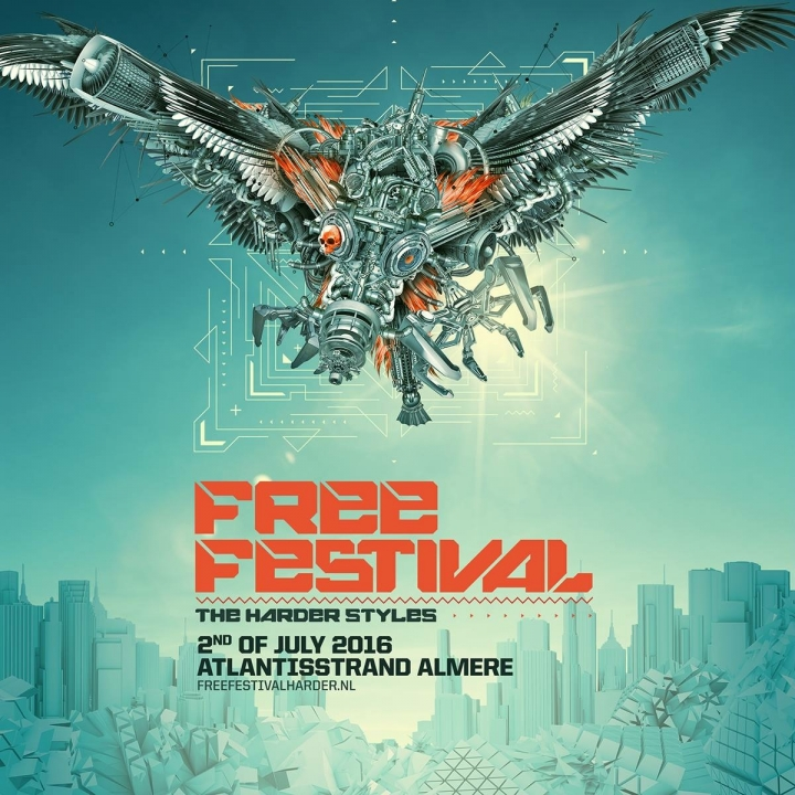Free Festival - The Harder Styles